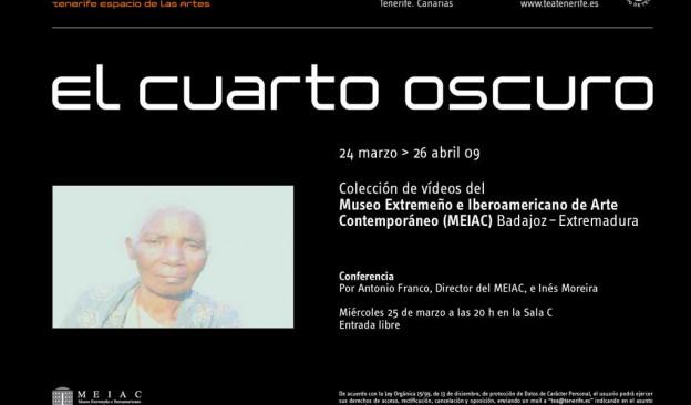EL CUARTO OSCURO - TEA Tenerife Espacio de las Artes