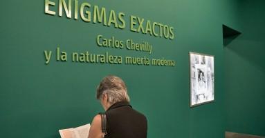 'Enigmas exactos: Carlos Chevilly y la naturaleza muerta moderna'