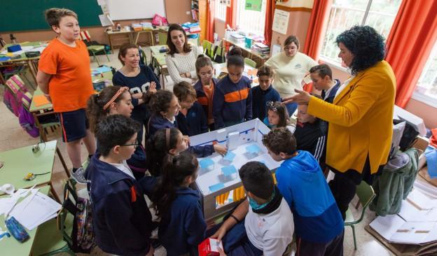 TEA pone en marcha la cuarta edición del programa  de mediación artística en la escuela 'Un/a artista viene a vernos'