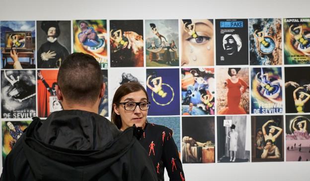 María Cañas imparte en TEA un taller de agitación cultural, reciclaje audiovisual y videoguerrilla