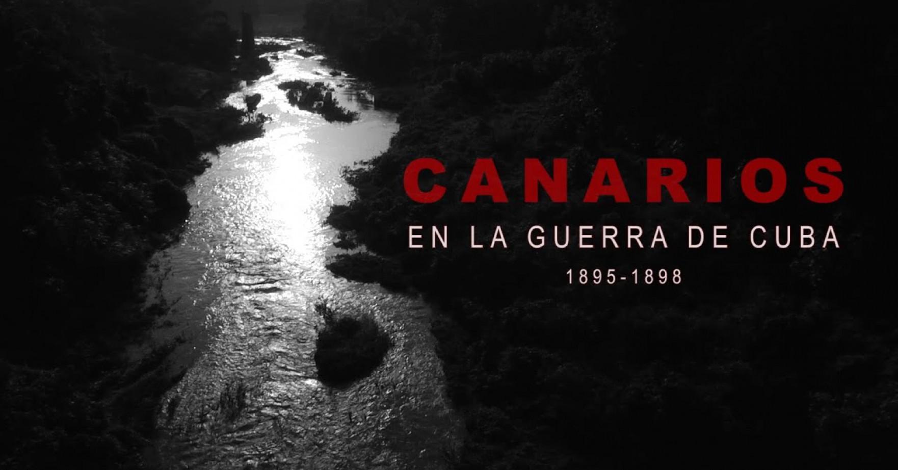 Canarios en la guerra de Cuba, 1895-1898