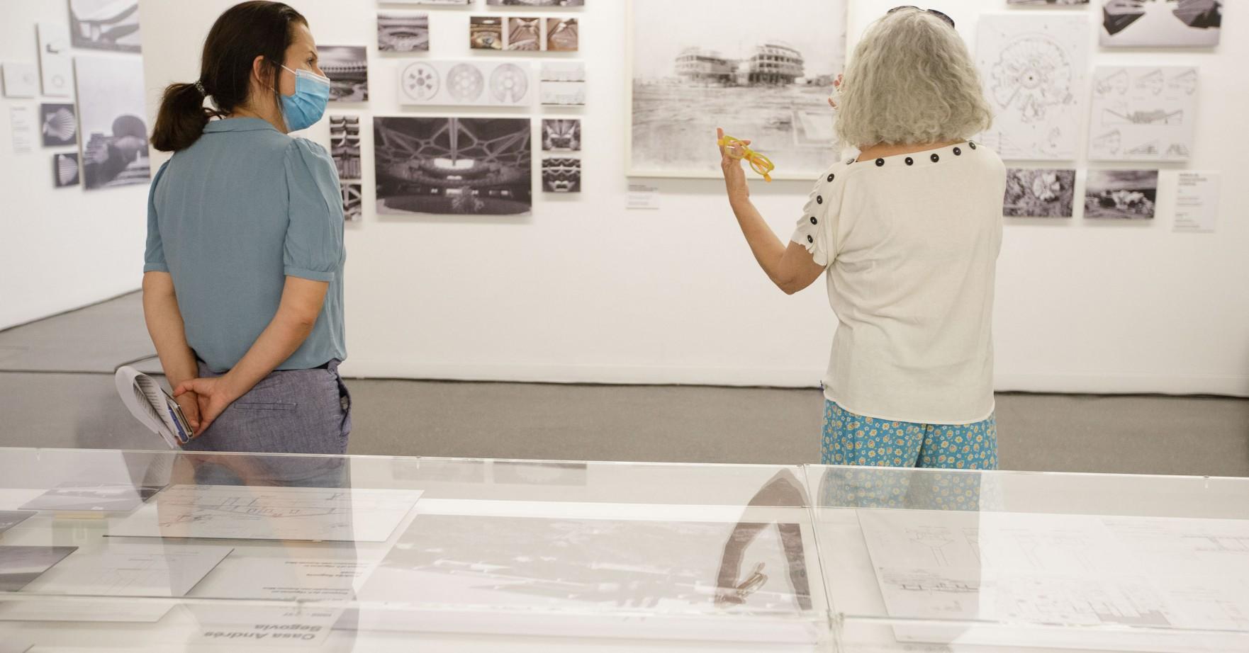 Visita guiada a la exposición Fernando Higueras. Desde el origen
