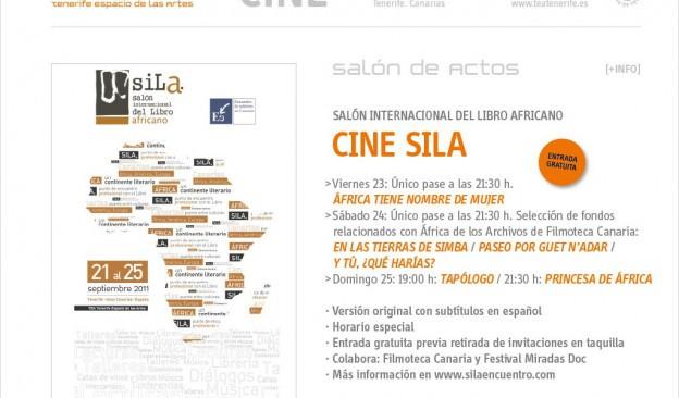 Ciclo de cine del Salón Internacional del Libro Africano (SILA)