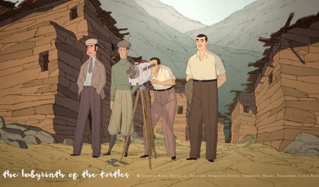 'Buñuel en el laberinto de las tortugas'