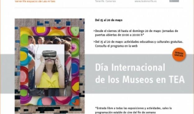 TEA celebra el Día de los Museos con actividades y jornadas de puertas abiertas