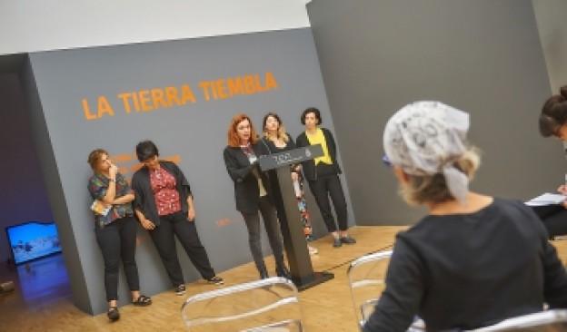 TEA presenta en Área 60 'La tierra tiembla', exposición comisariada por Raquel G. Ibáñez