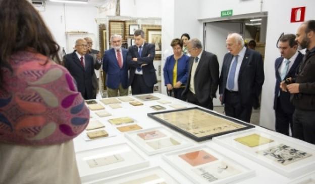 Los representantes de las Academias de la Lengua Española visitan TEA Tenerife Espacio de las Artes