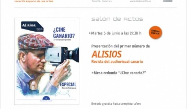 Presentación de 'Alisios. Revista del audiovisual canario'
