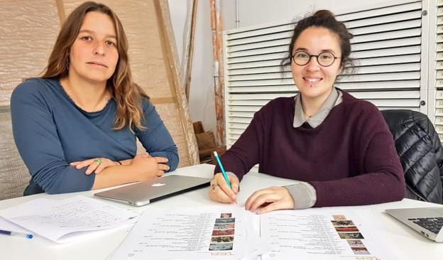 Dalia de la Rosa y Lola Barrena presentan el trabajo resultante de la residencia de investigación realizada en TEA