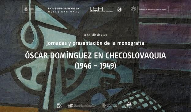 El Museo Thyssen acoge unas jornadas sobre la etapa de Óscar Domínguez en Checoslovaquia