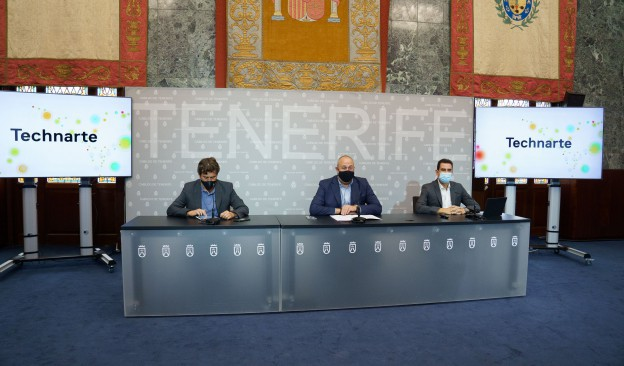 El Cabildo presenta 'Technarte Residency Tenerife'