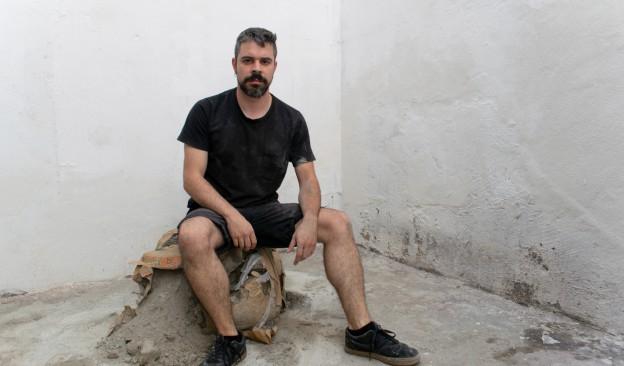 El artista tinerfeño Abraham Riverón presenta  en TEA el proyecto 'Cadáveres en la mocheta'