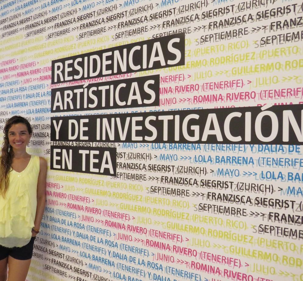 Residencias artísticas - Romina Rivero